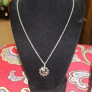 Jewelry - Praying Hands Wreath Necklace